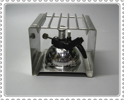 Micro Burner with Stainless Steel Stand