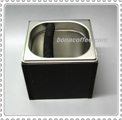 Coffee Knockbox Stainless Steel with Stand