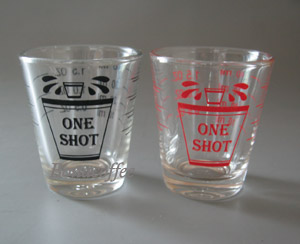 one shot glass