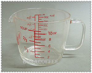 Scale cup 300ml/10oz